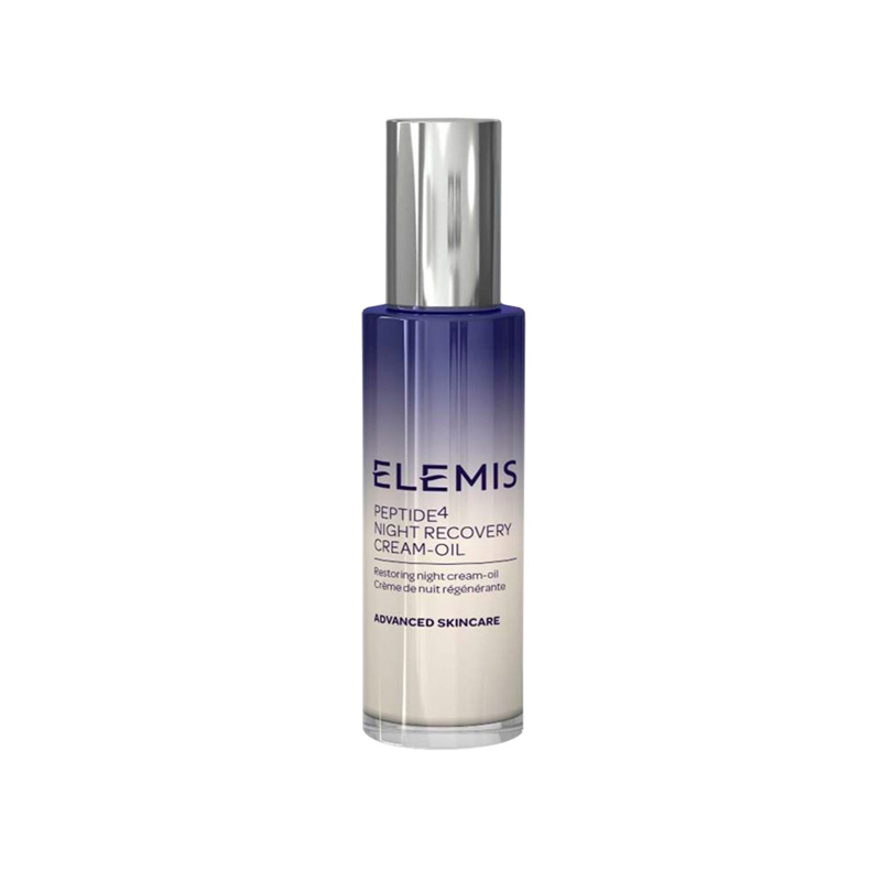 Elemis Peptide4 Advanced Skincare Night Recovery Cream Oil 30ml - Hydrating Night Cream