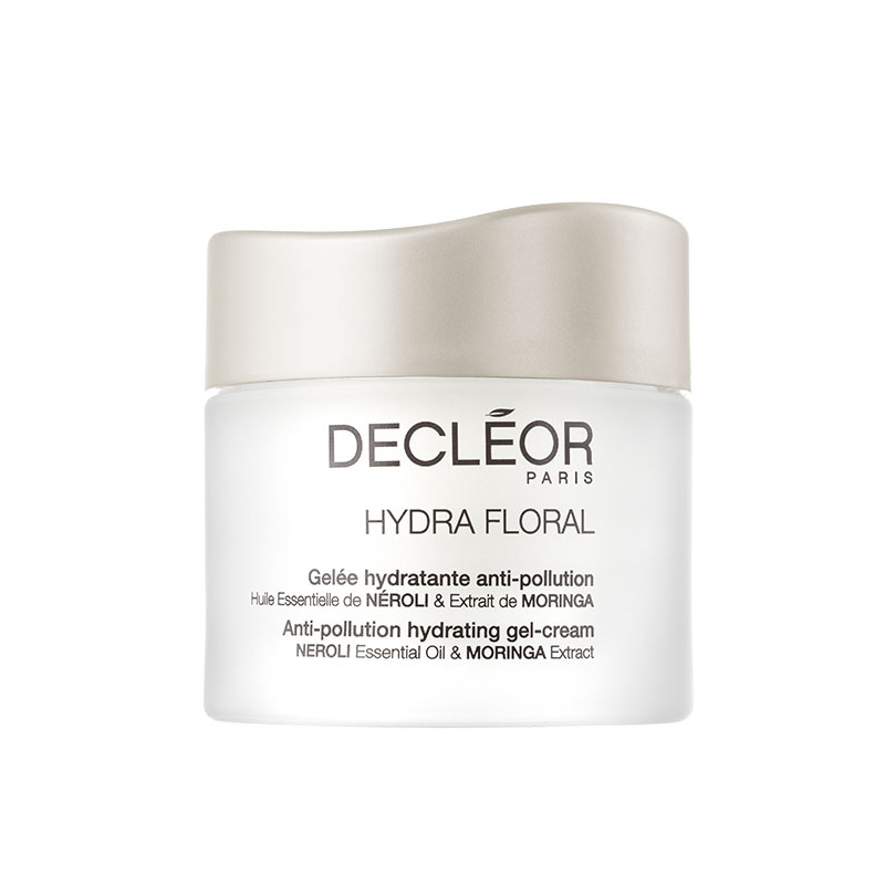 Decleor Hydra Floral Anti-Pollution Hydrating Gel Cream 50ml - Perfect Face Cream for Normal & Combination Skin