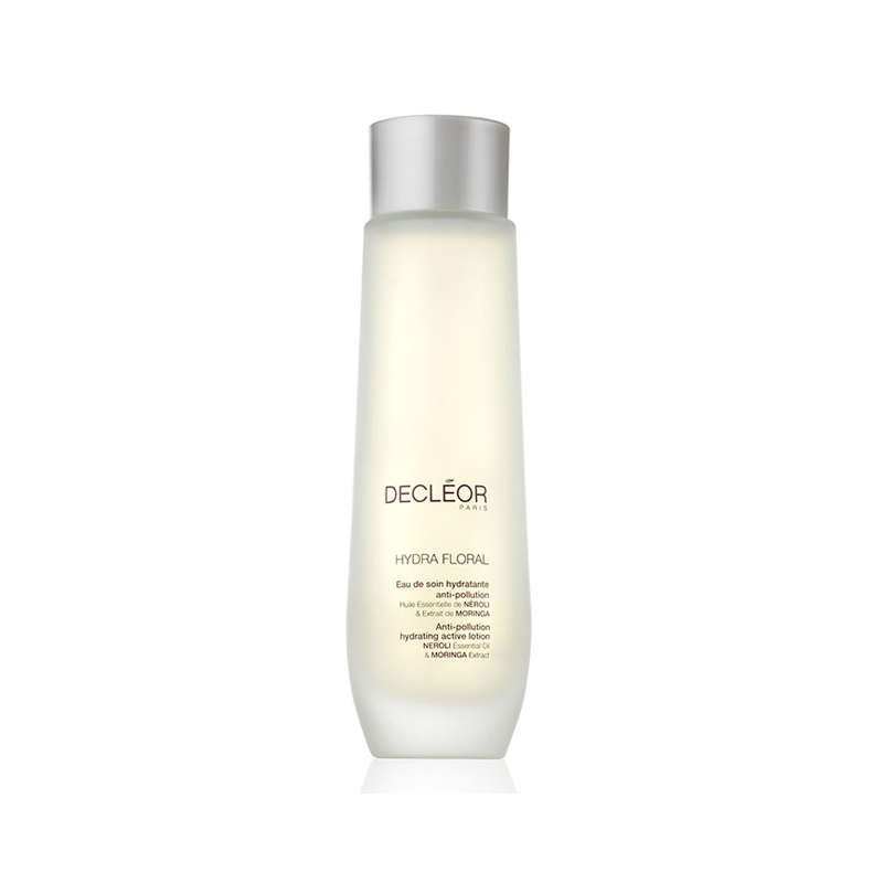 Decleor Hydra floral Anti-Pollution Active Lotion 100ml - Face Moisturiser for Dry Skin & Fine Lines