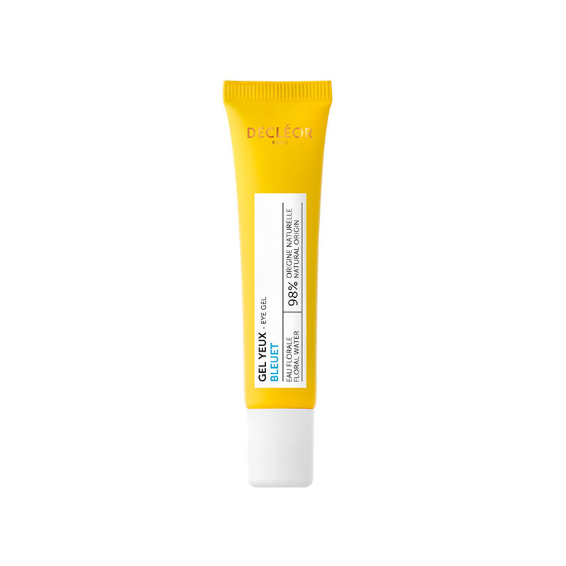 Decleor Cornflower Eye Gel 15ml - Hydrating Eye Contour Gel to Reduce Fine Lines & Wrinkles