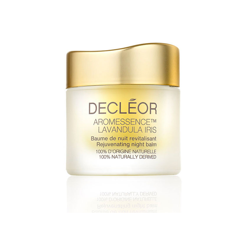 Decleor Aromessence Lavandula Iris Night Balm 15ml - Hydrating Anti Aging Face Balm for Tired & Mature Skin