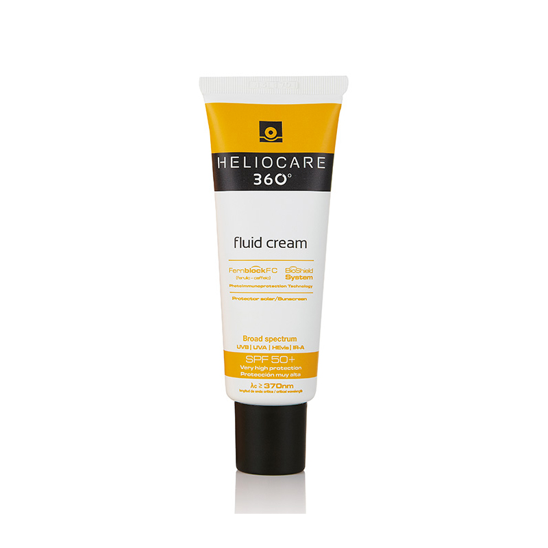 Heliocare 360 Fluid Cream SPF 50+ 50ml - Perfect Sun Protection for All Skin Types