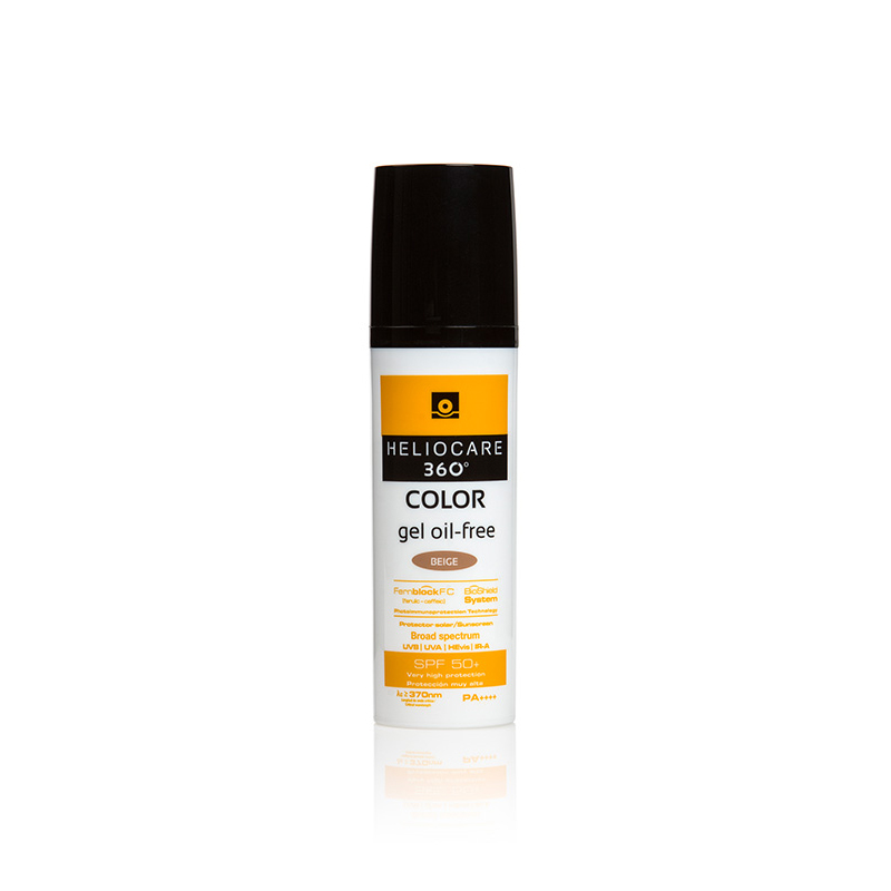 Heliocare 360 Color Gel Oil-Free SPF 50+ Beige 50ml - Perfect Sunscreen for All Skin Types