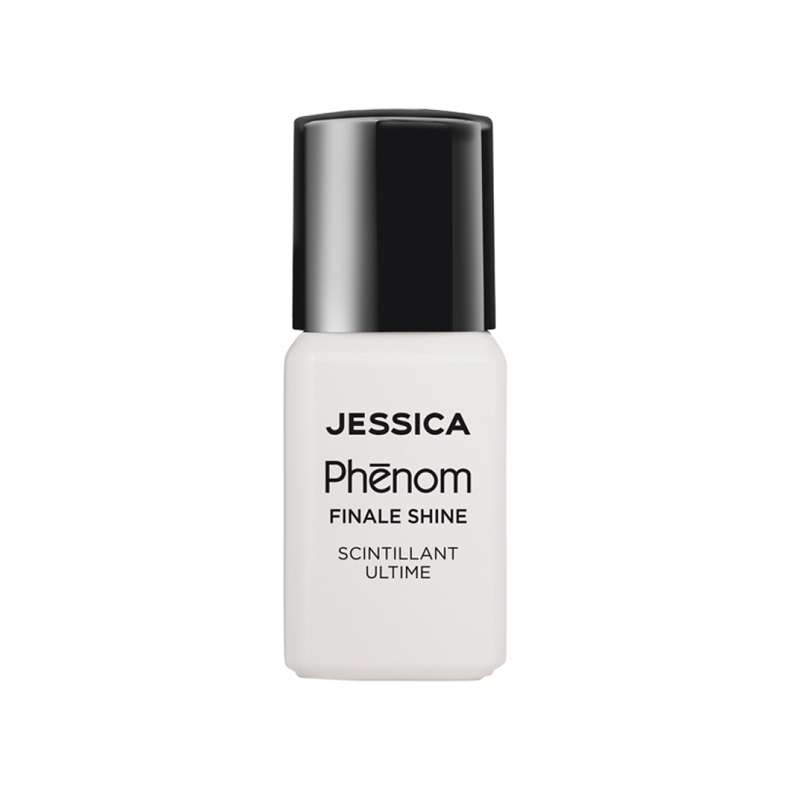 Jessica Finale Shine Topcoat 0.5 fl. oz. - High Gloss Non Chip Topcoat