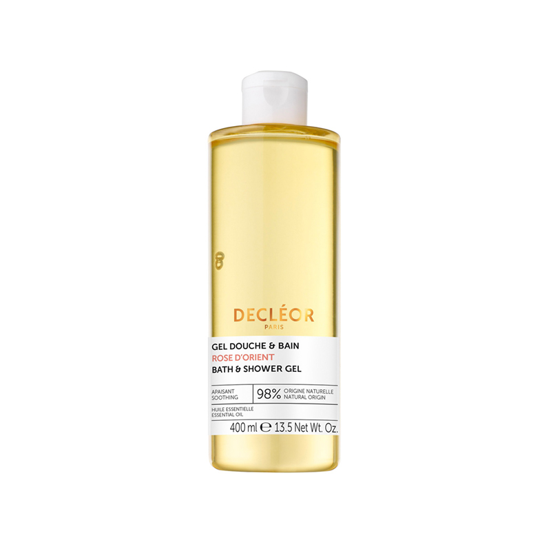 Decleor New Luxury Size Rose D'orient Soothing Bath & Shower Gel 400ml